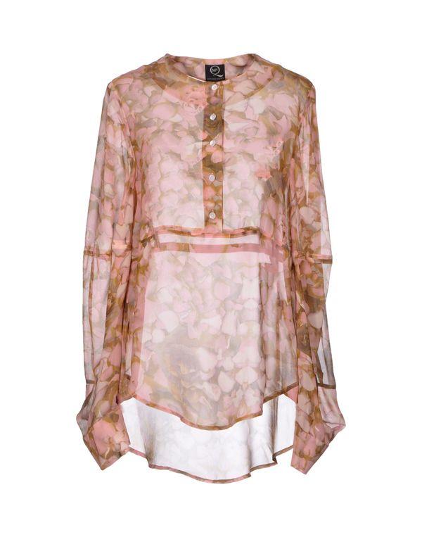粉红色 MCQ ALEXANDER MCQUEEN 女士衬衫