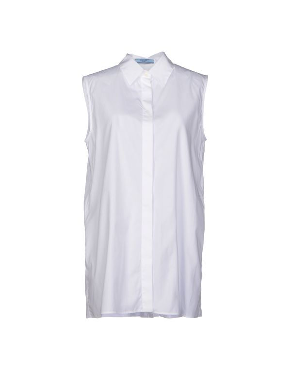 白色 PRADA Shirt