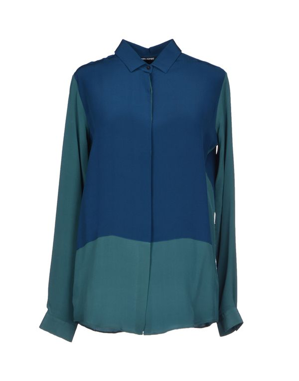 孔雀绿 NEIL BARRETT Shirt
