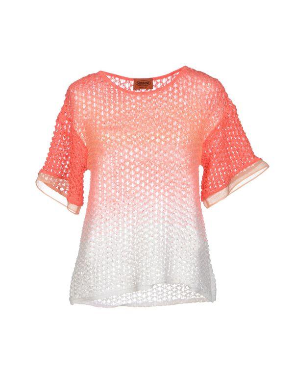 珊瑚红 MISSONI 套衫