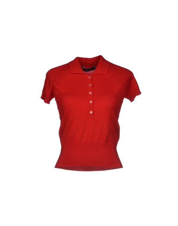 红色 DOLCE & GABBANA 套衫