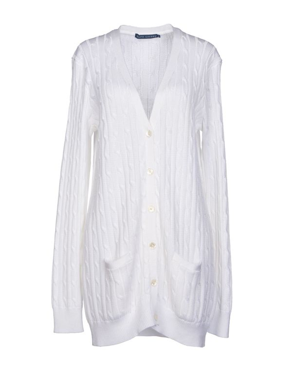白色 RALPH LAUREN 针织开衫