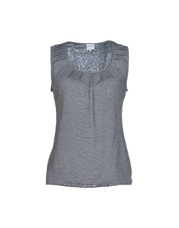灰色 ARMANI COLLEZIONI 套衫