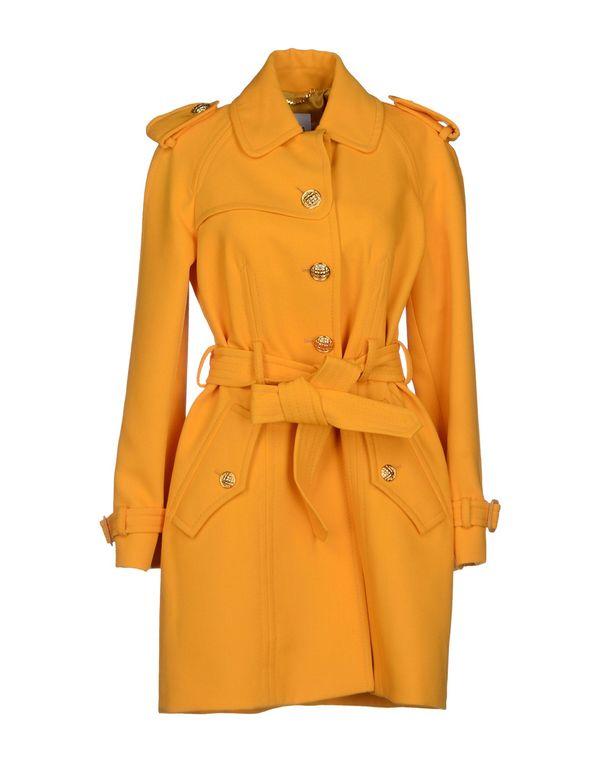 杏色 MOSCHINO 大衣
