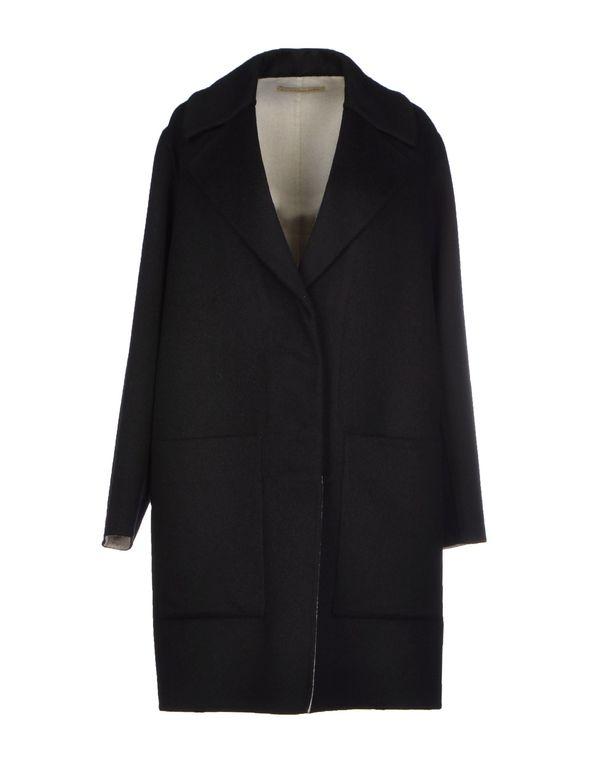 黑色 BALENCIAGA 大衣