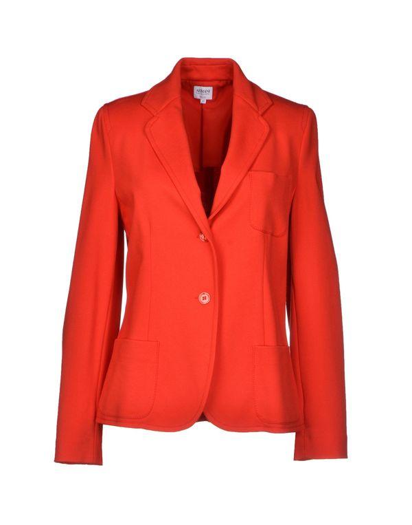 红色 ARMANI COLLEZIONI 西装上衣
