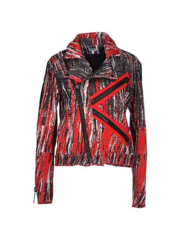 红色 KENZO 西装上衣