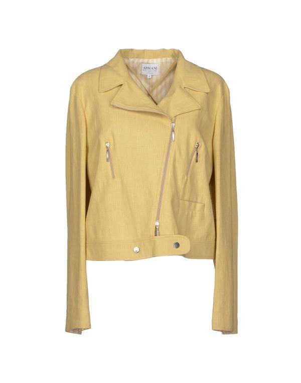 浅黄色 ARMANI COLLEZIONI 西装上衣