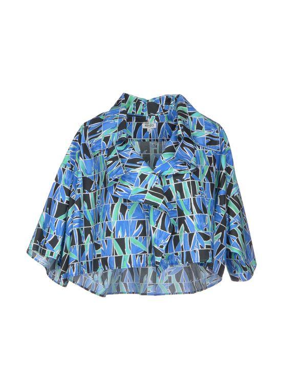 蓝色 KENZO 女士衬衫