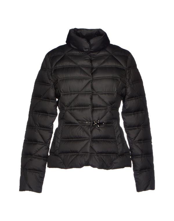 黑色 FAY 羽绒服