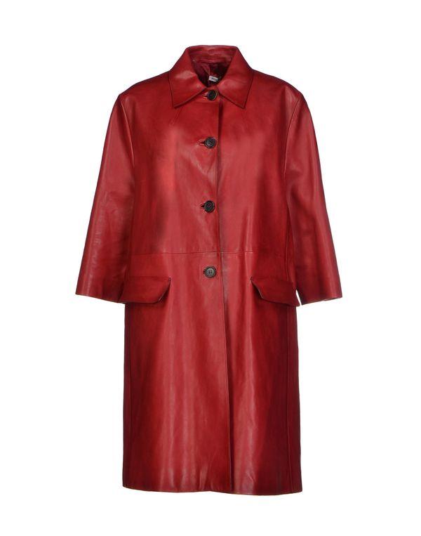 红色 MIU MIU 大衣
