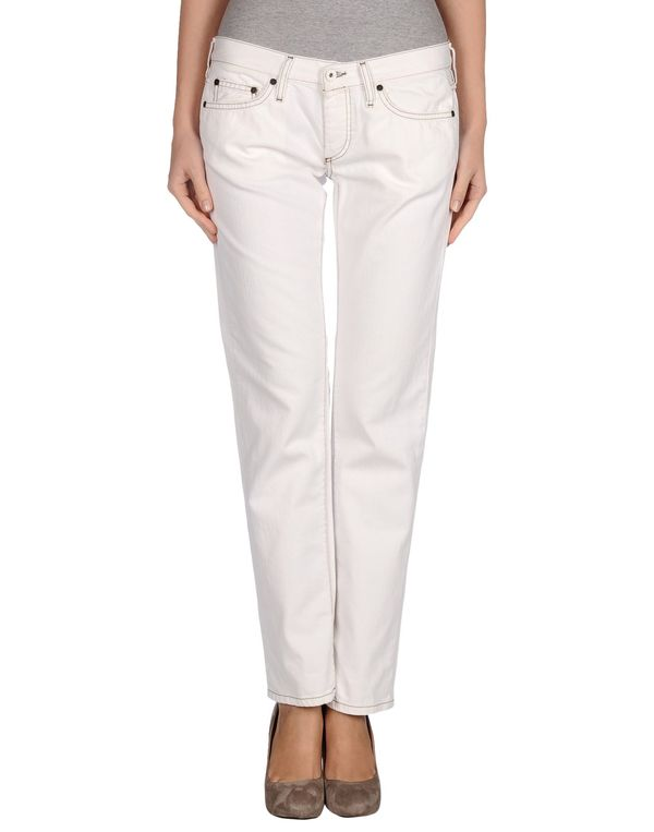 白色 M.GRIFONI DENIM 牛仔裤