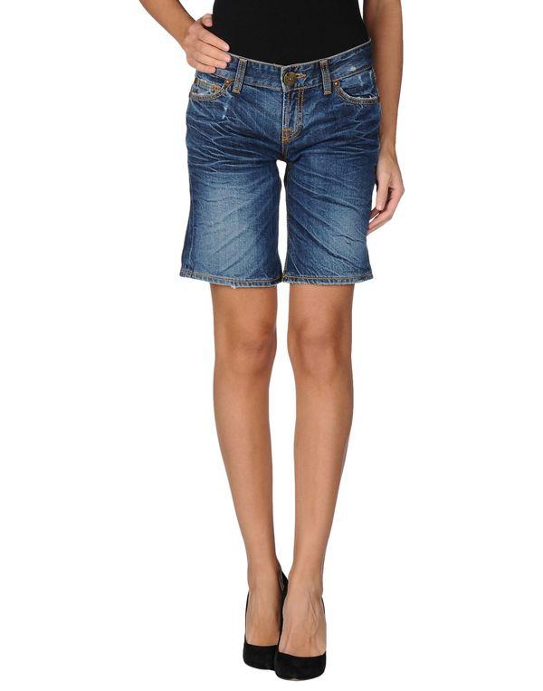 蓝色 LIU •JO 百慕大牛仔短裤