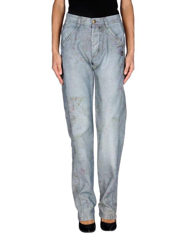 灰色 MCQ ALEXANDER MCQUEEN 牛仔裤
