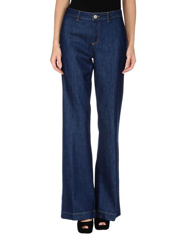 蓝色 REDVALENTINO 牛仔裤