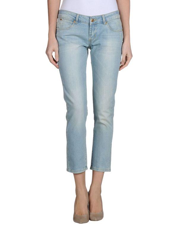 蓝色 PHARD 牛仔裤
