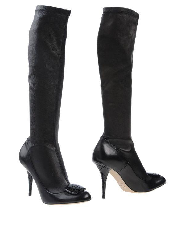 黑色 DIOR 靴子