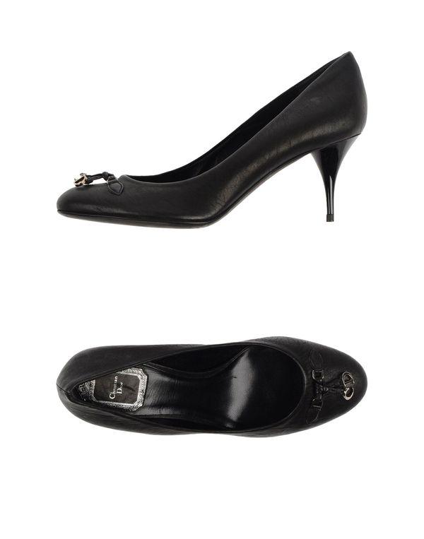 黑色 DIOR 高跟鞋