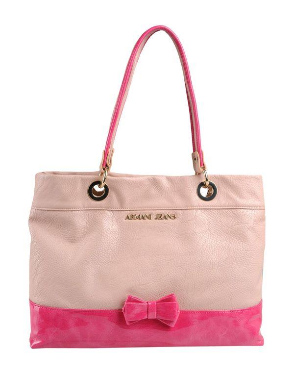 浅粉色 ARMANI JEANS Handbag