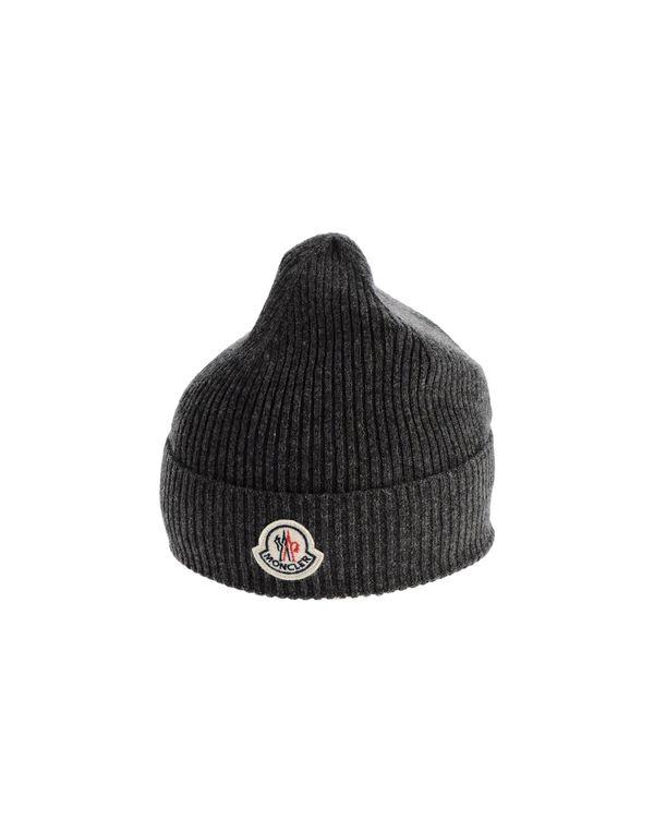 铅灰色 MONCLER 帽子