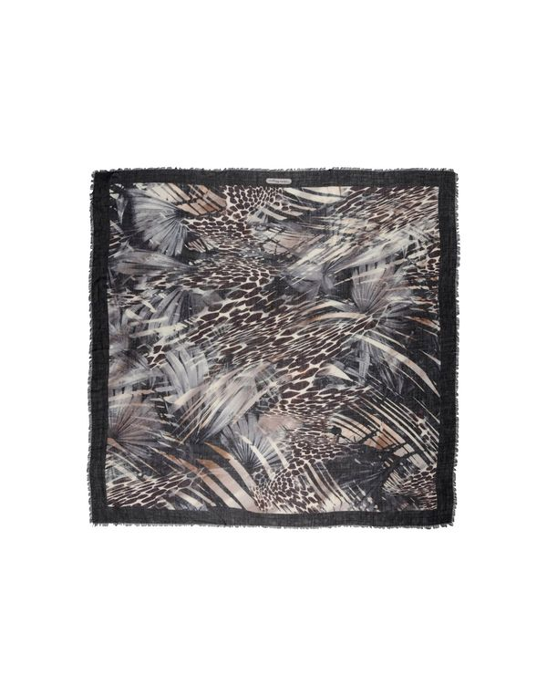 黑色 SALVATORE FERRAGAMO 方巾