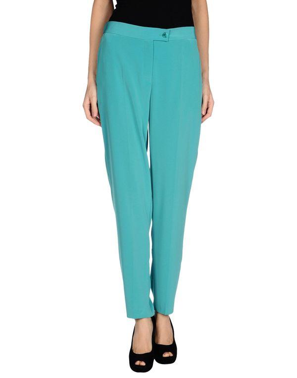 绿色 MOSCHINO CHEAPANDCHIC 裤装