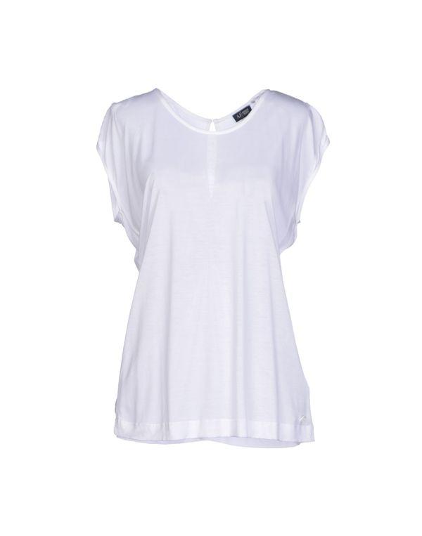 白色 ARMANI JEANS T-shirt