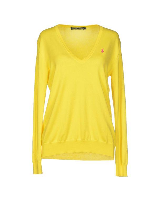 黄色 RALPH LAUREN 套衫