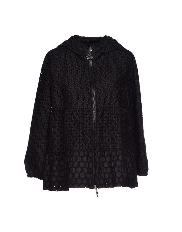 黑色 MONCLER 夹克