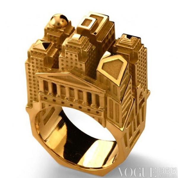 把世界戴在指尖 12只建筑元素指环