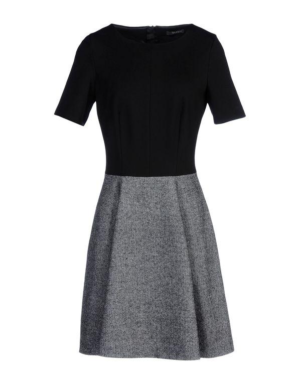 黑色 ESPRIT 短款连衣裙