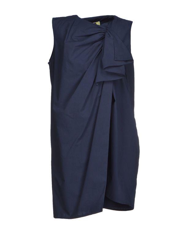 深藏青 MSGM 短款连衣裙
