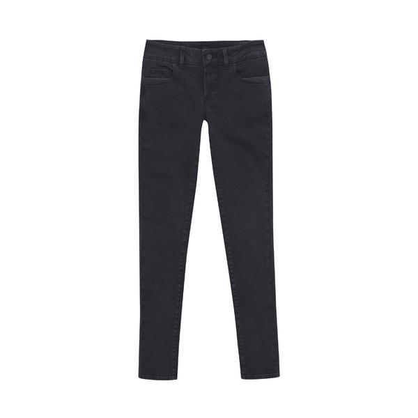 Massimo Dutti黑色修身牛仔裤
