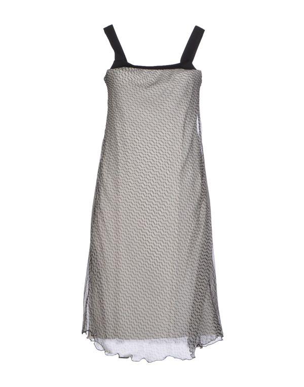 灰色 PIANURASTUDIO 及膝连衣裙