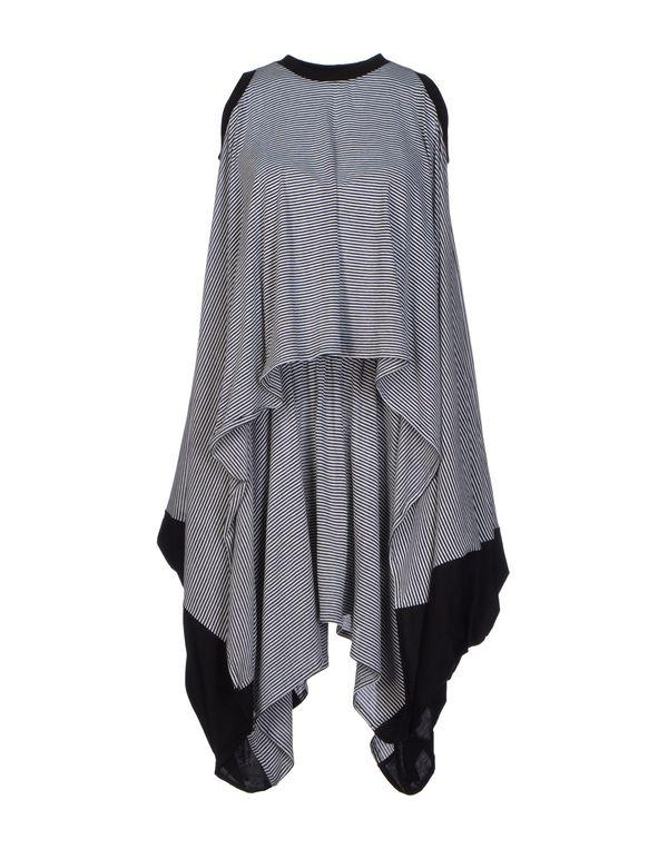 黑色 MARIOS 短款连衣裙