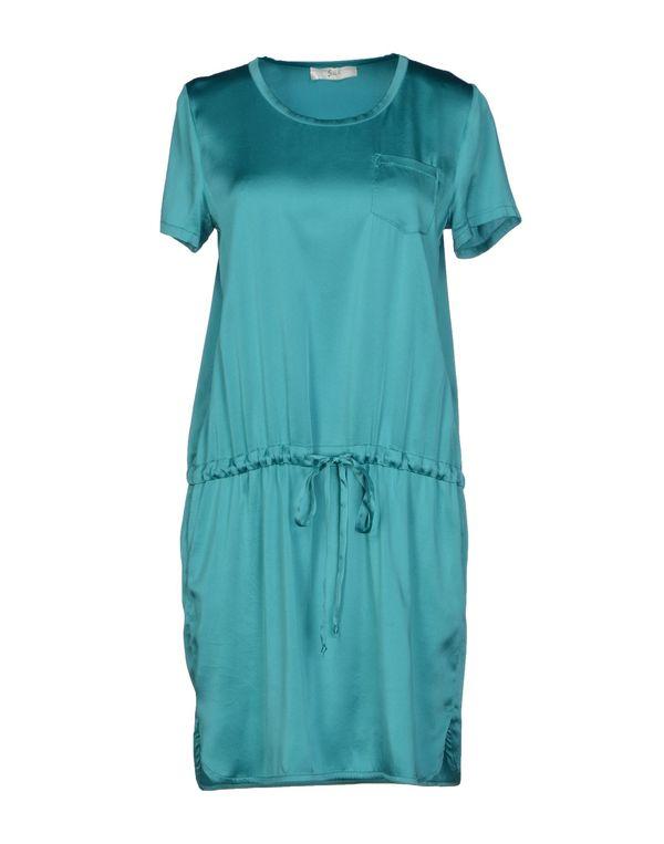 蓝绿色 SUOLI 短款连衣裙