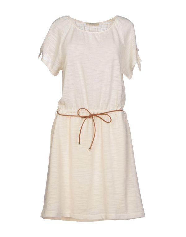 象牙白 SESSUN 短款连衣裙
