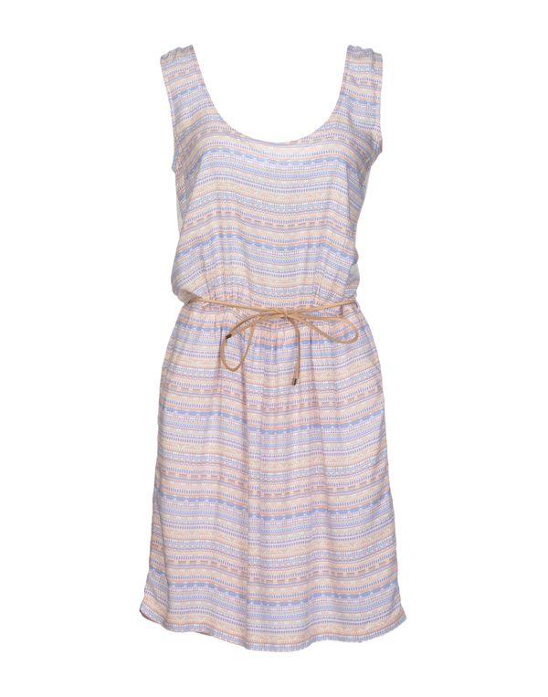 粉红色 SESSUN 短款连衣裙