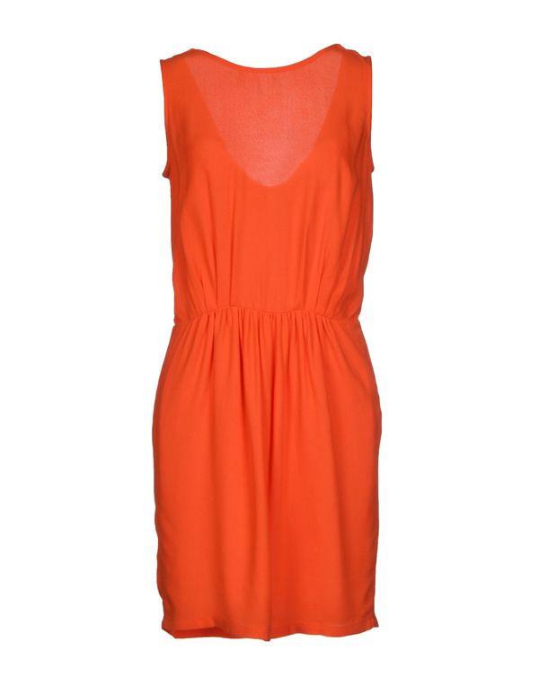 橙色 SESSUN 短款连衣裙