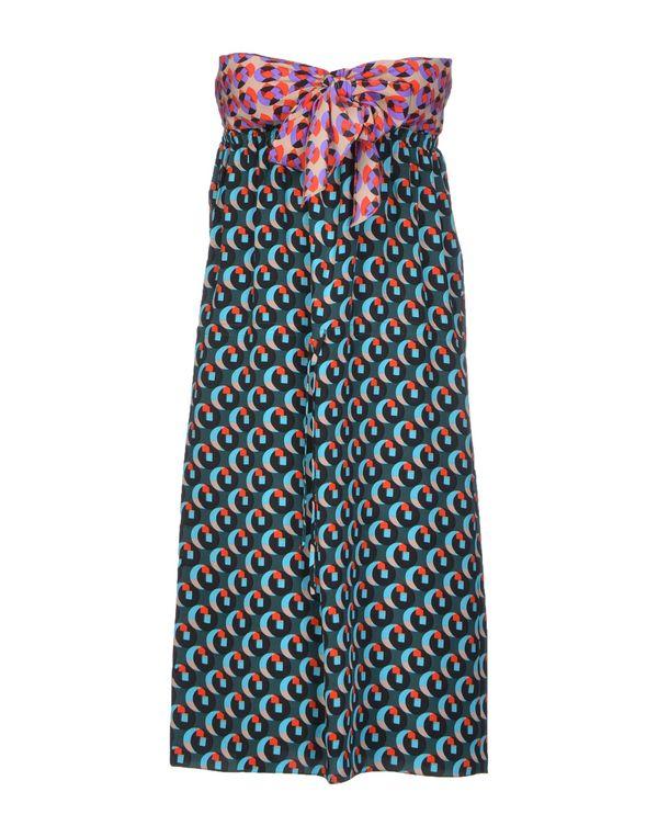 深绿色 VANESSA BRUNO 短款连衣裙