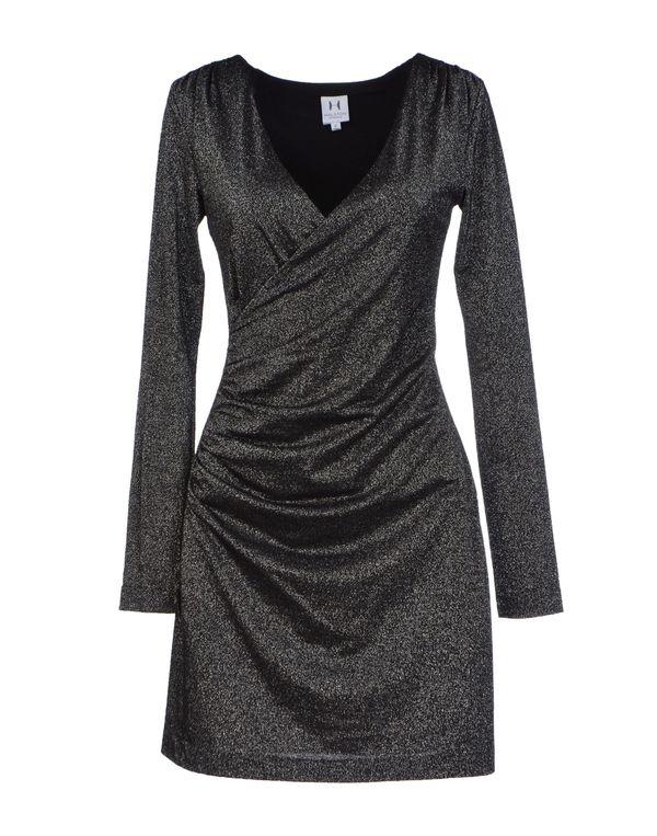 黑色 HALSTON HERITAGE 短款连衣裙