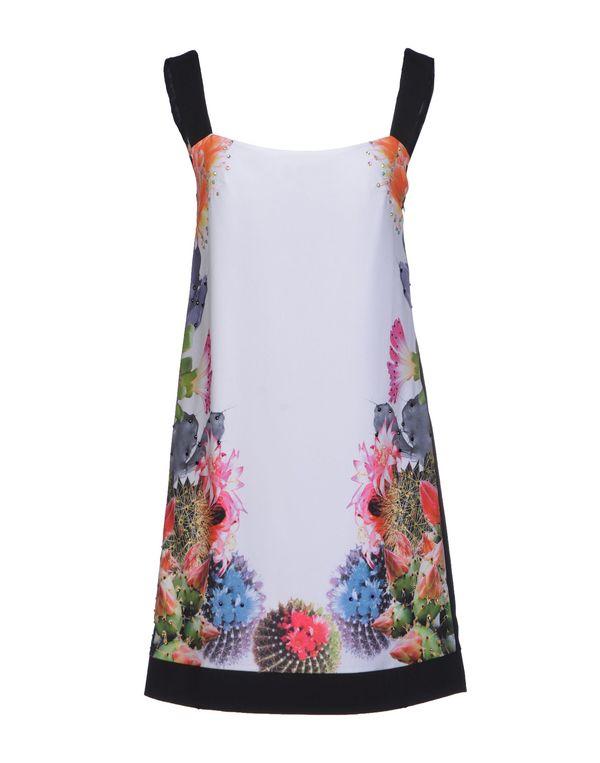 白色 NOSHUA 短款连衣裙