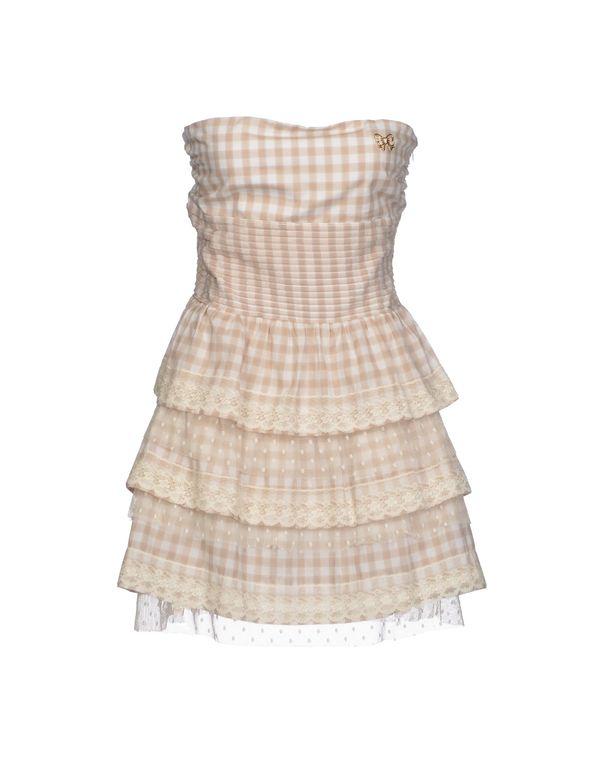 米色 ATELIER FIXDESIGN 短款连衣裙