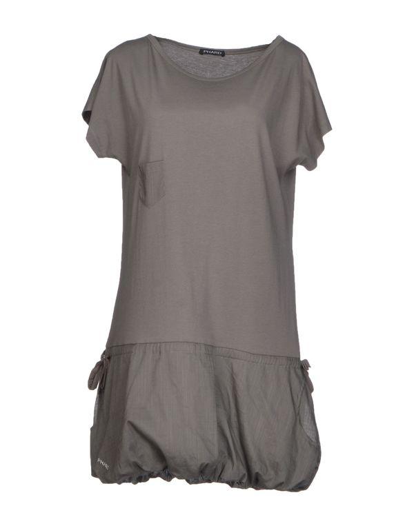 铅灰色 PHARD 短款连衣裙