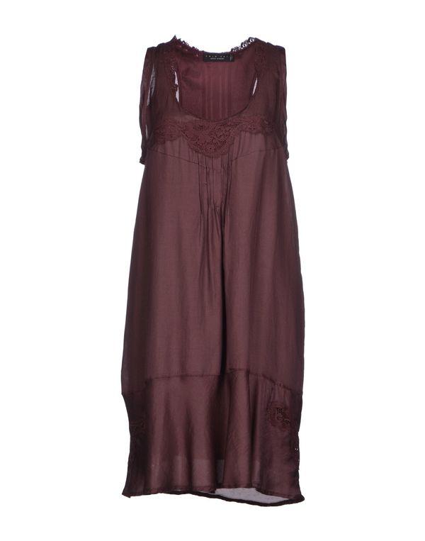 深紫 TWIN-SET SIMONA BARBIERI 短款连衣裙