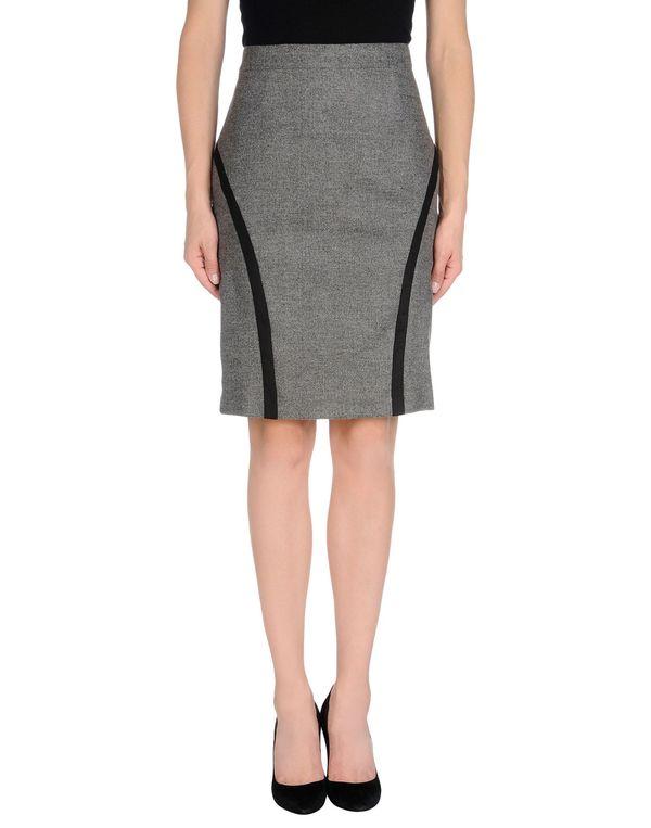 灰色 JUCCA 及膝半裙