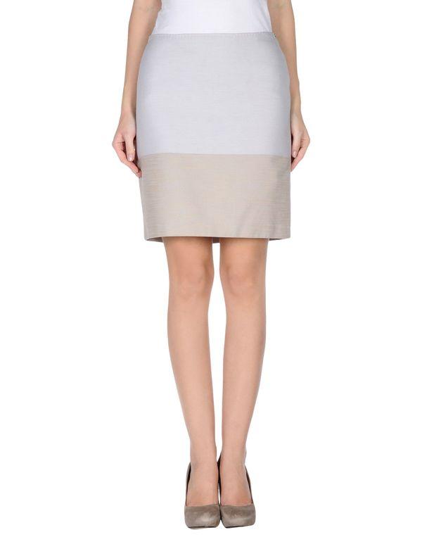 淡灰色 PENNYBLACK 及膝半裙