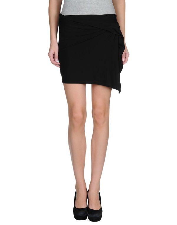 黑色 PLEIN SUD 超短裙