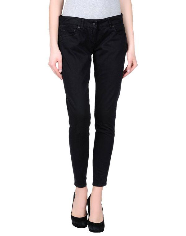 黑色 DANIELE ALESSANDRINI DENIM 裤装