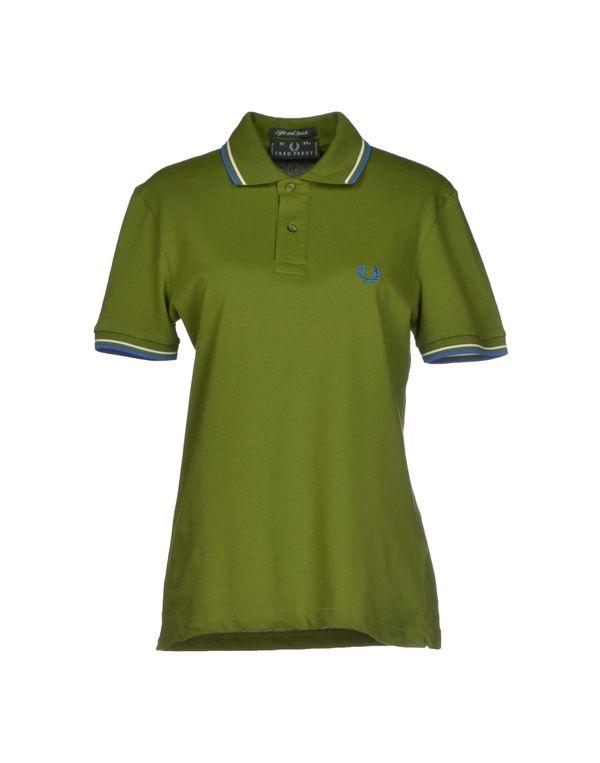 军绿色 FRED PERRY Polo衫